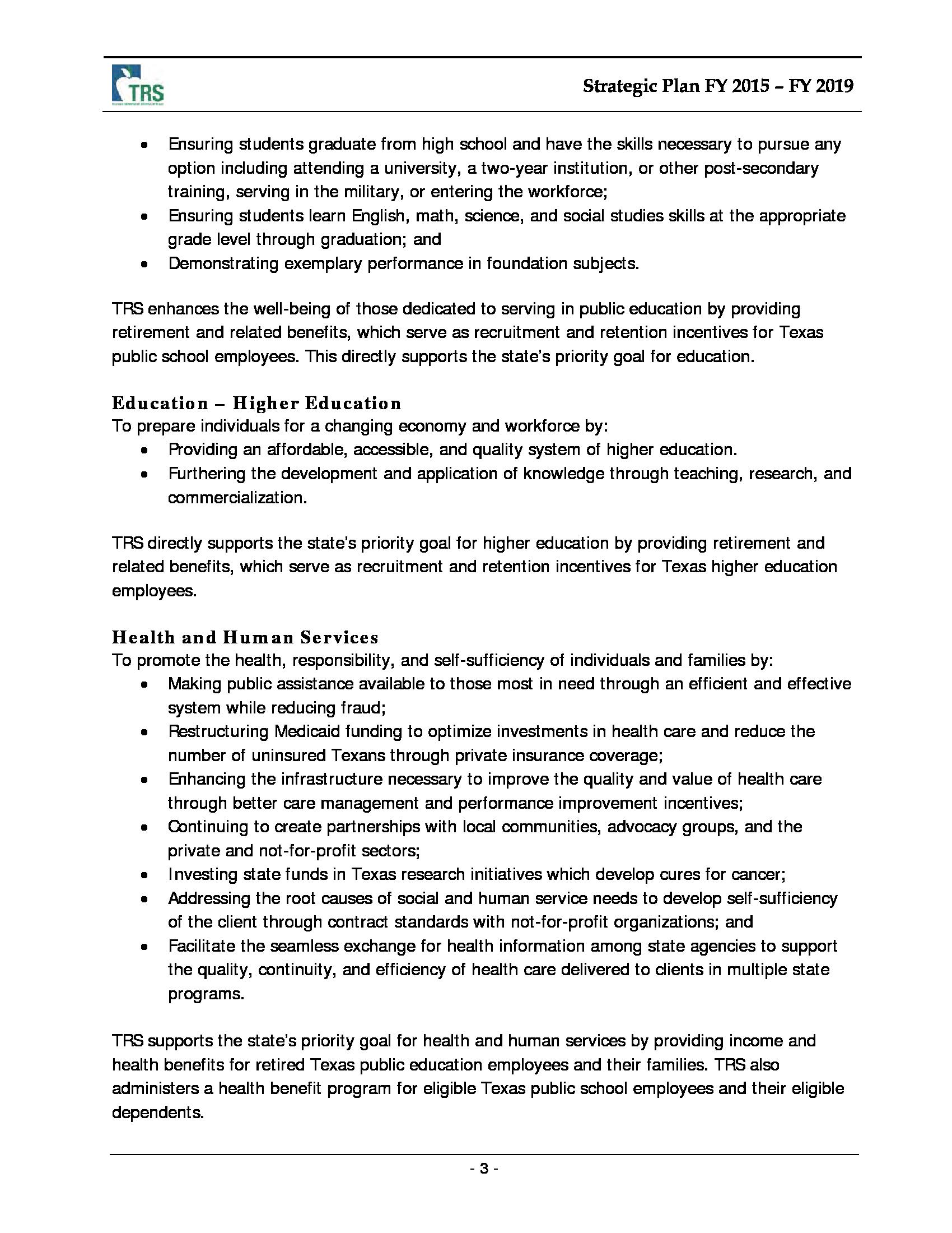 Advisorselect - Teacher Retirement System Of Texas - 2015