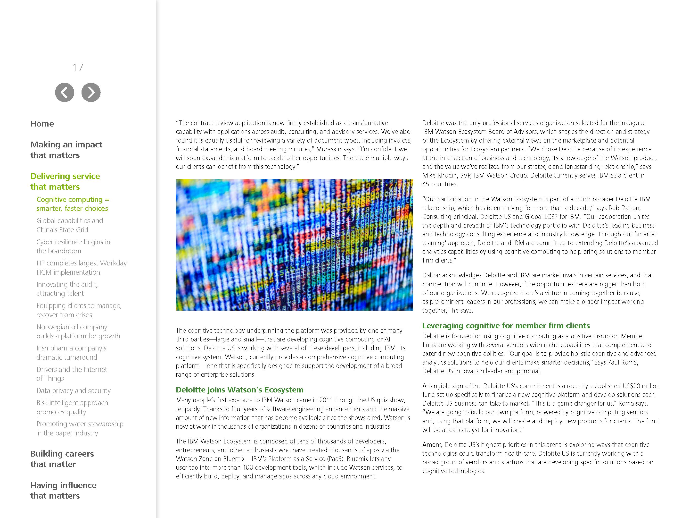 Agile Subway Map Deloitte.Advisorselect Making An Impact That Matters 2015 Global Report