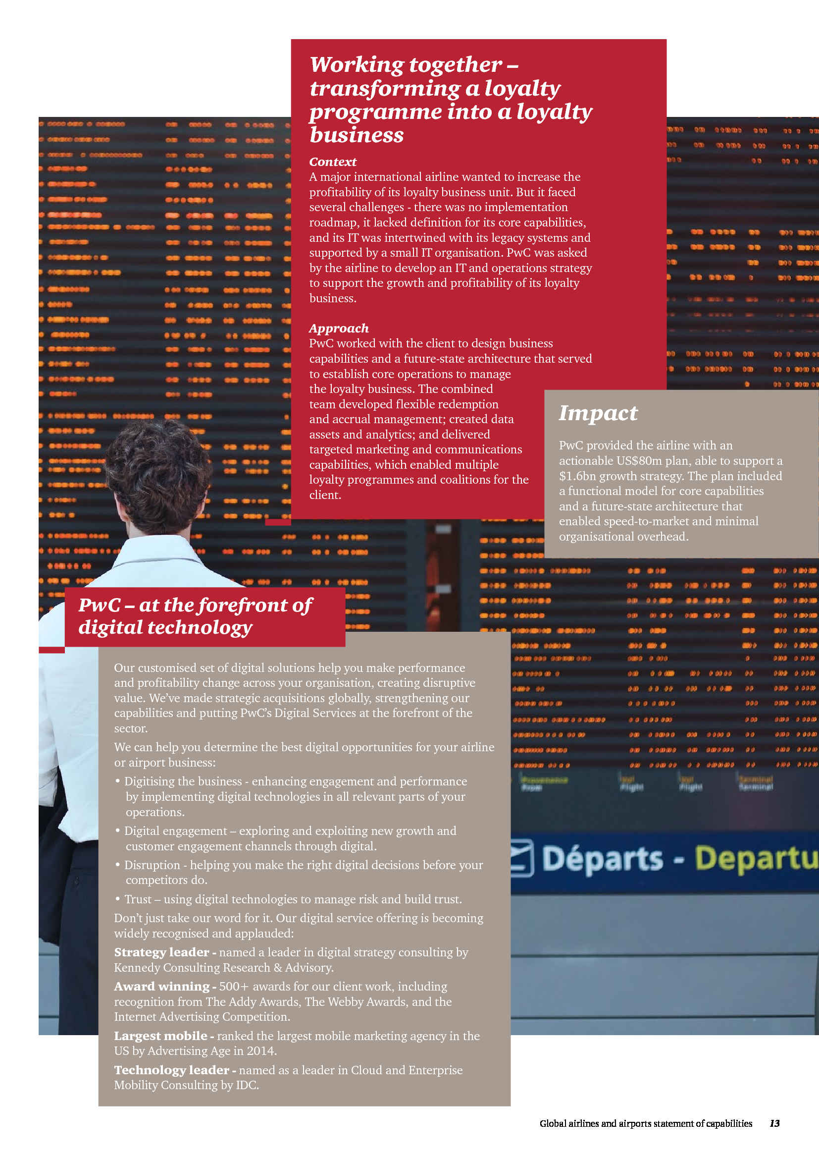 advisorselect global airlines airports statement of capabilities