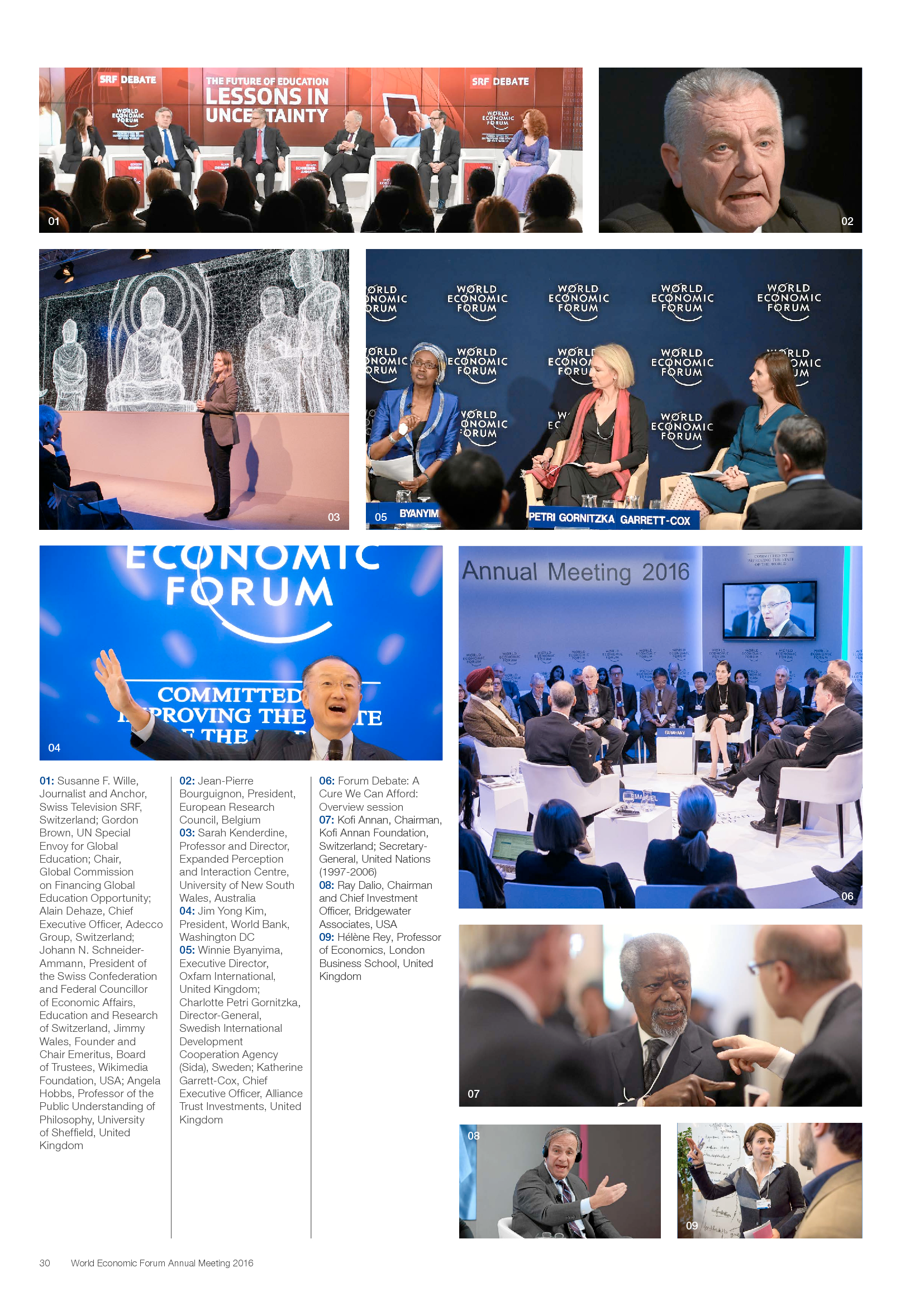 Advisorselect - World Economic Forum Annual Meeting 2016: Mastering
