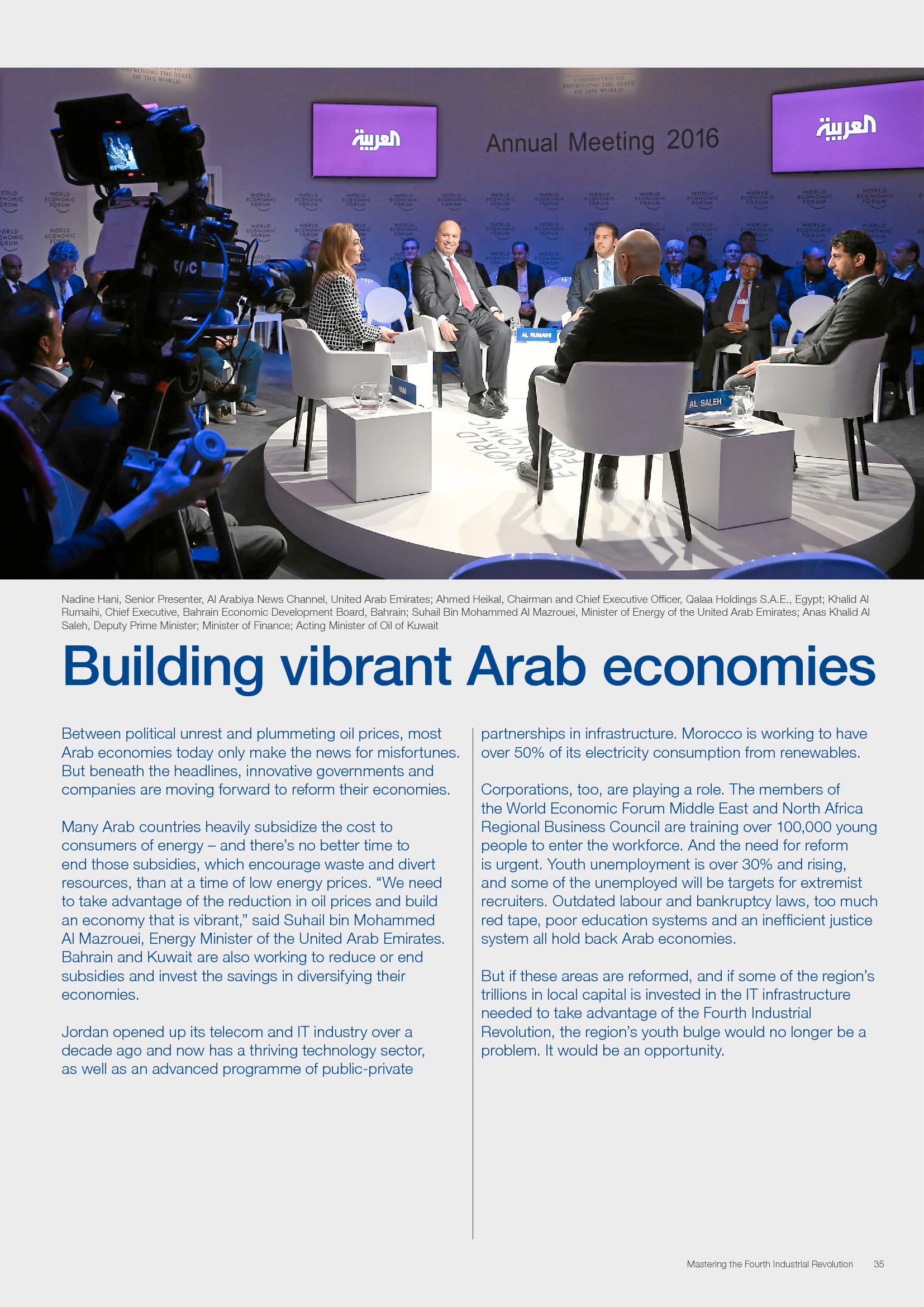 Advisorselect - World Economic Forum Annual Meeting 2016