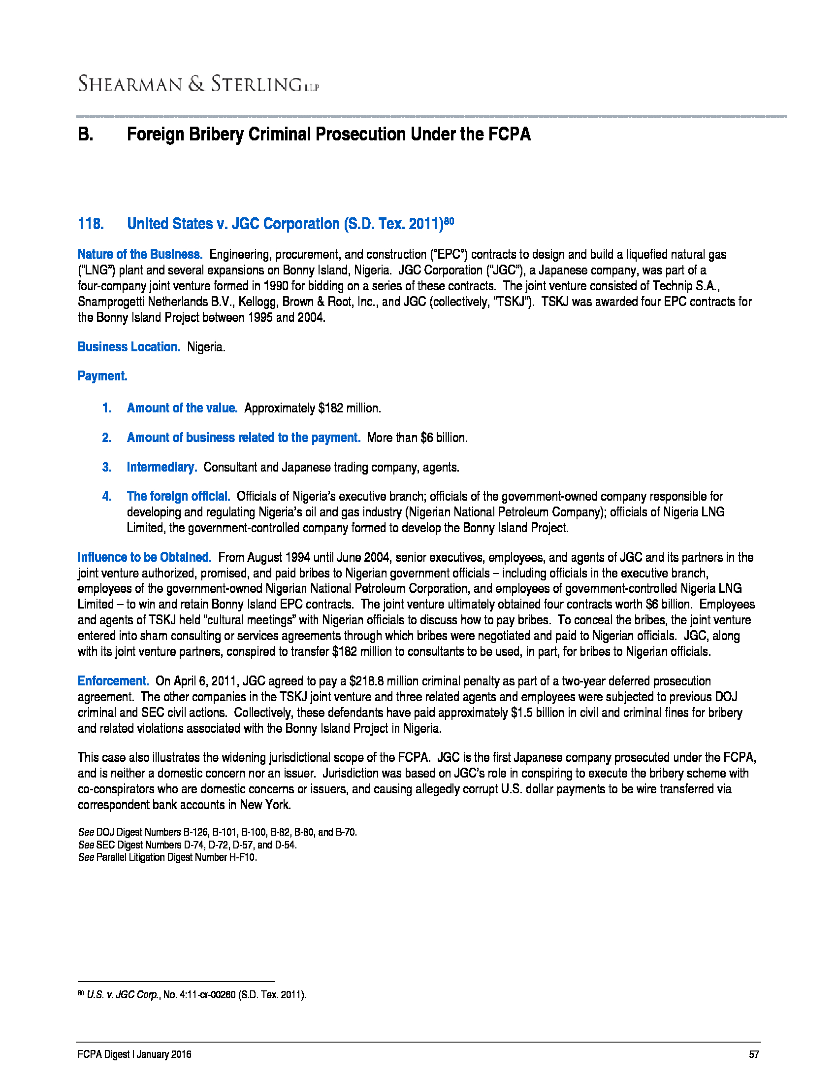 Advisorselect - Shearman & Sterling's Recent Trends and