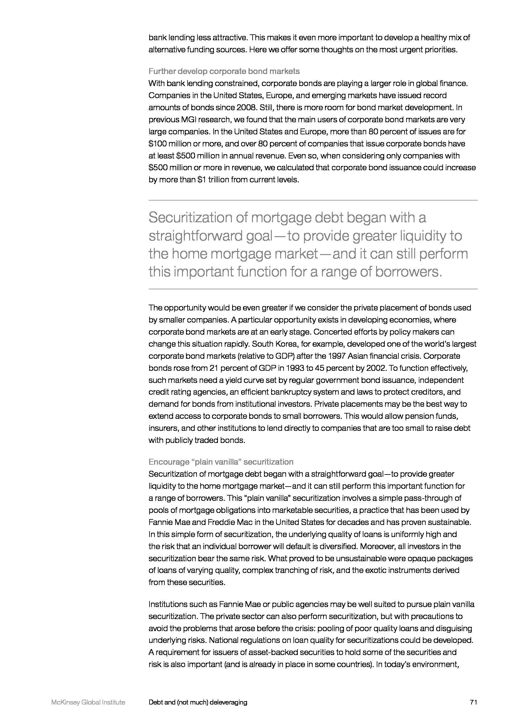Advisorselect - Debt and (not much) deleveraging – February 2015