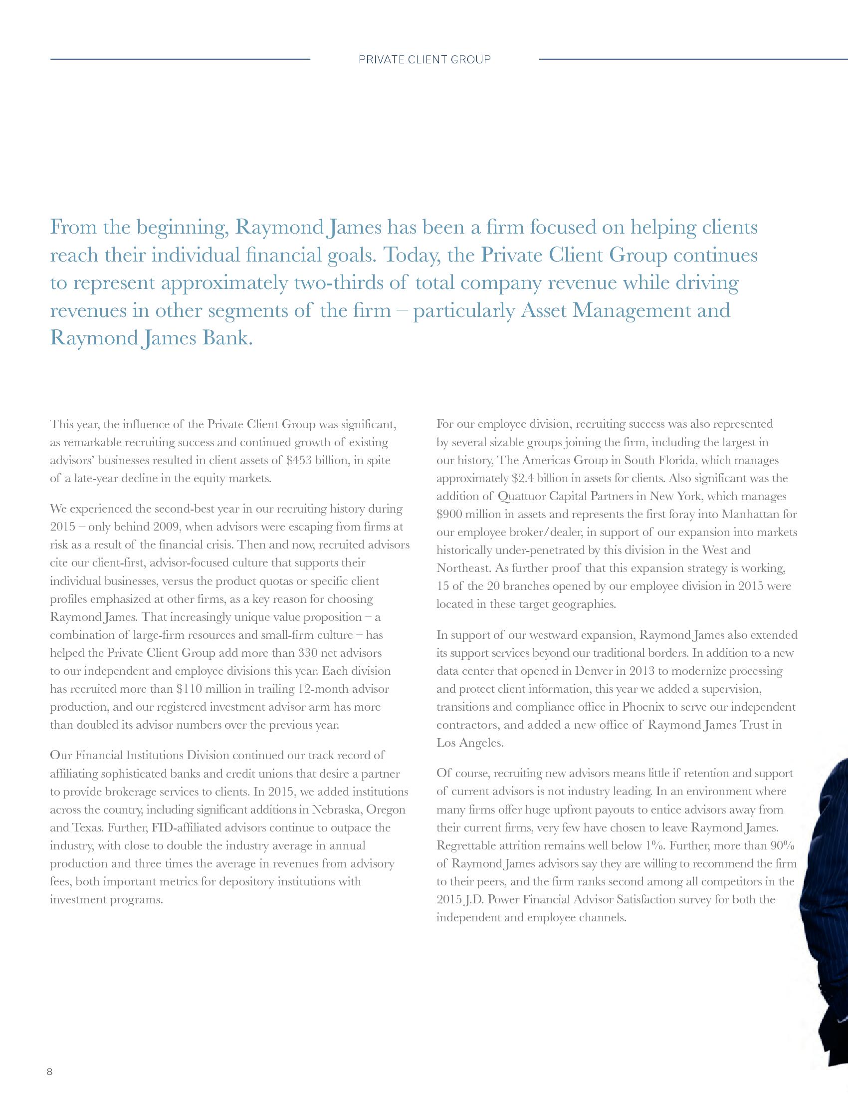 Advisorselect - Annual Report - 2015