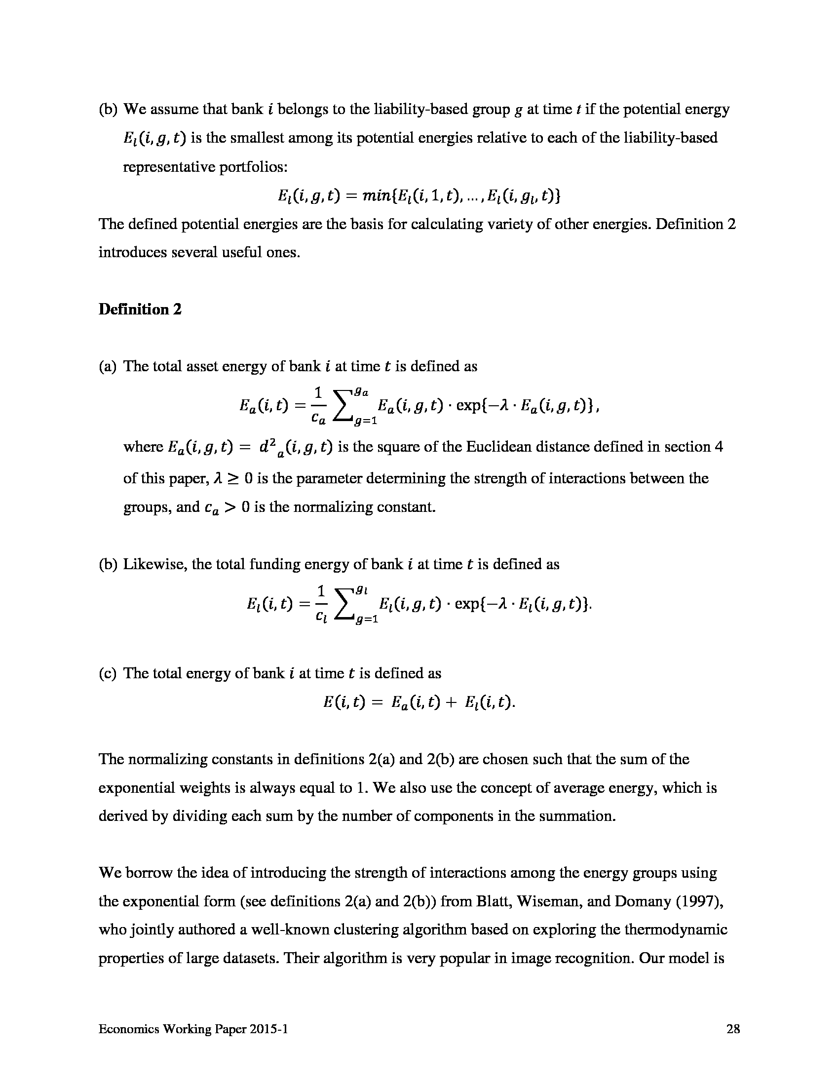 Advisorselect - Thermodynamic Properties of the U S  Banking