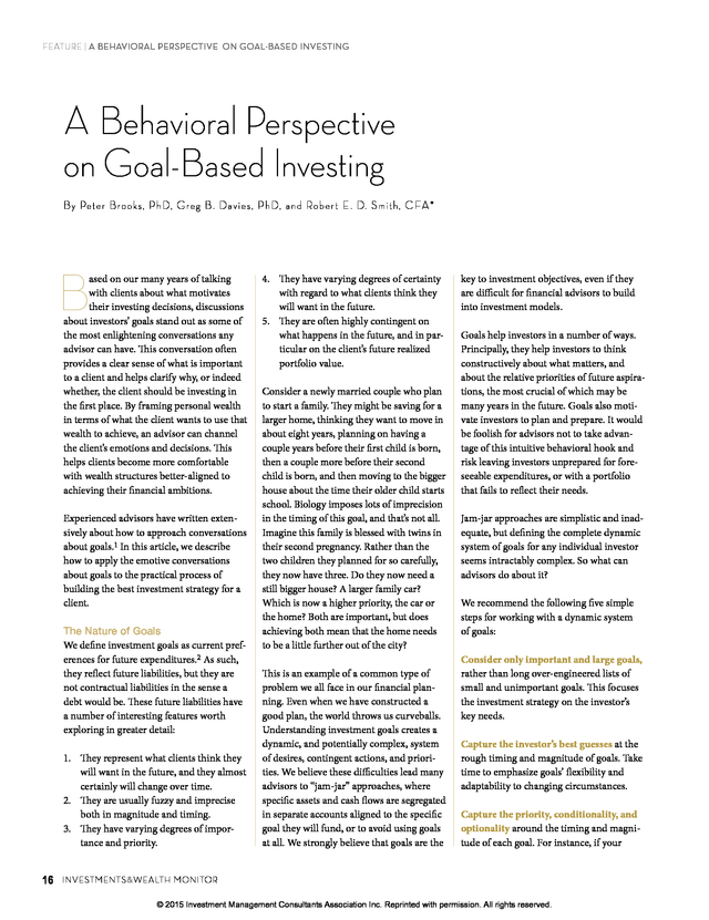 what is behavioral perspective