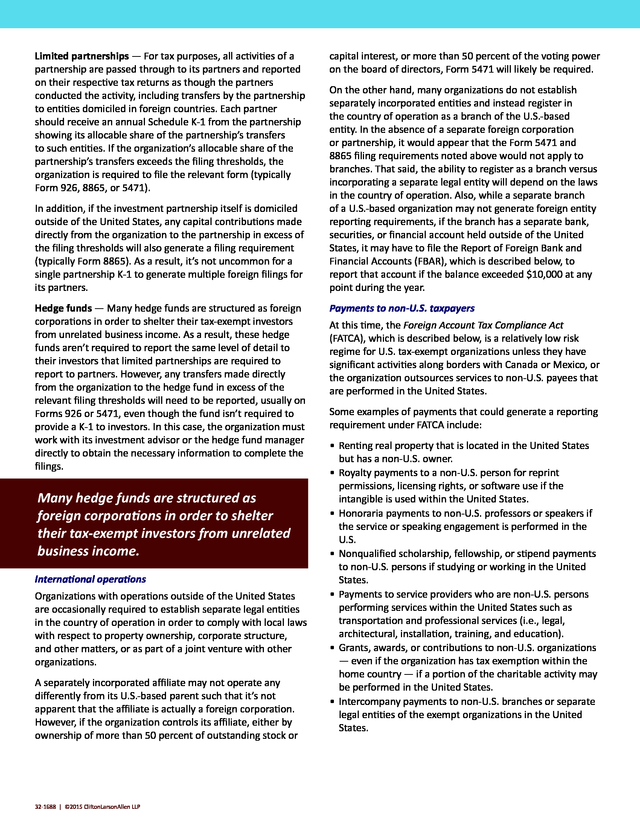Advisorselect White Paper Irs Foreign Reporting Requirements For