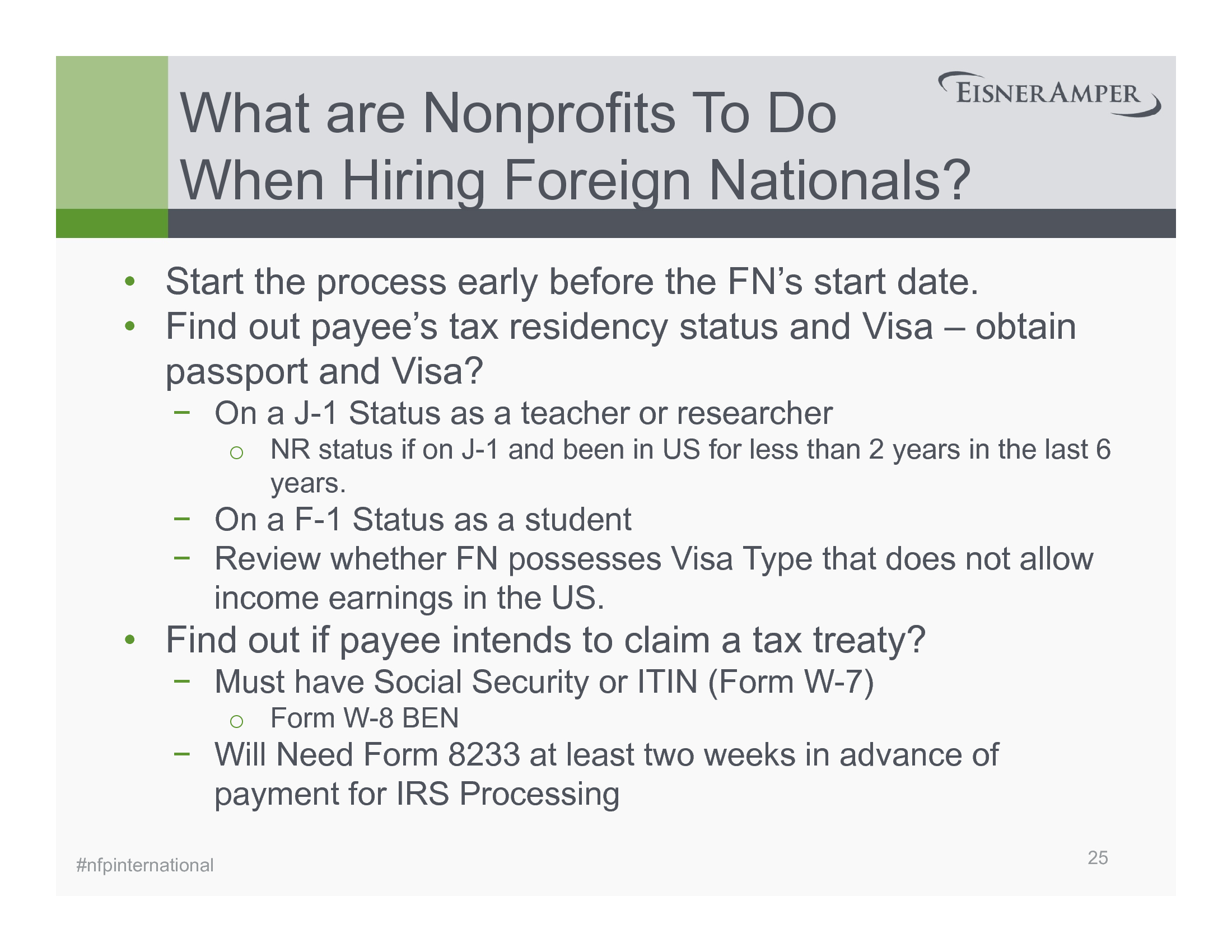 Advisorselect Beyond Borders International Issues For Nonprofits