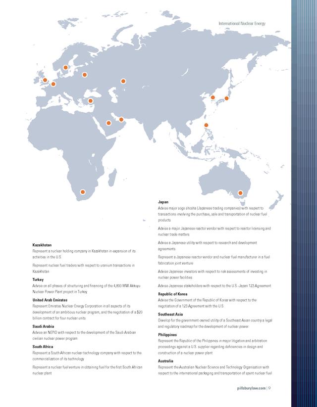 Advisorselect International Nuclear Energy Project Brochure Brochure