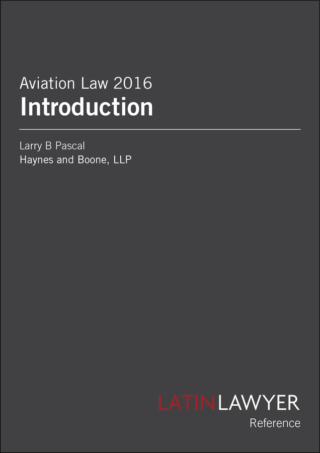 Advisorselect - Aviation Law 2016 Introduction – February 16