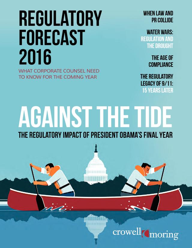 Advisorselect - Regulatory Forecast 2016 - Against the Tide